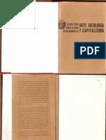 Arte, Ideología y Capitalismo-Zizek,Alemán,Rendueles