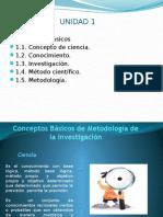 Prof. Alvin Clase 1 Conceptos Basicos