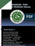 pengembangan dan analisis produk HALAL
