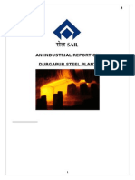 An industrial vist report on Durgapur Steel Plant