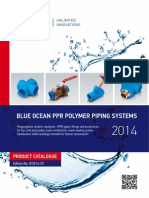 Catalogo Blue Ocean PPR Piping Systems 2014