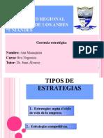 Tipos de Estrategias (Ana Masaquiza)