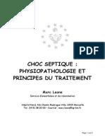 C3 Chap05 - Choc Septique Physiopathologie Et Principes Du Traitement
