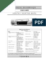 Toshiba VC-X791_792 A4