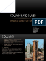 Columns and Slabs