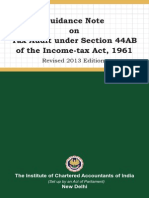 Tax Audit 44 Ab Guidance Note 2013