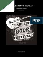 Regulamento Oficial - Sarreufa Rock Festival 2015 - Rj