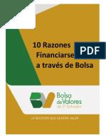 10 Razones Para Financiarse a Través de Bolsa