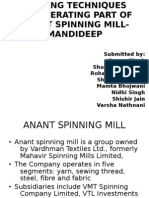 Anant Spinning Mill