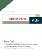 Edema Papil