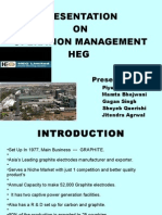 Presentation on Operation Management Heg