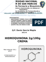Hidroquinona Crema[1]