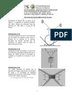 Problemas de Equilibrio en El Plano Uss Estatica 2014-i c