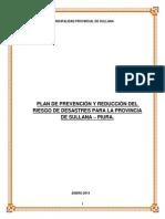 Documentos Municipales 2015 Defensa Civil PLAN PPRRD
