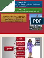 Chapter 21 Kebijakan Akuntansi, Perubahan Estimasi Akuntansi Dan Kesalahan