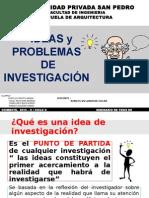 IDEA Y PROBLEMA DE  INVESTIGACION.pptx