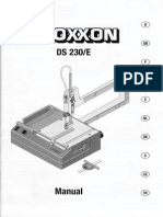 Proxxon DS230/E Manual