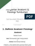 1.Pengantar Anatomi & Fisiologi Tumbuhan