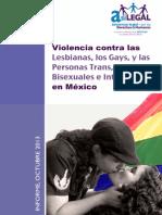 Informe LGBTTTI México