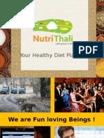 Nutri Thali - Corporate Presentation