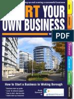 Start New Business Woking Borough