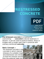 Pre Stressed Concrete Presentation