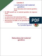 Naturaleza y Estructura Del Material Hereditario