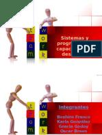 Tarea Sistemas y Programas de Capacitación y Desarrollo