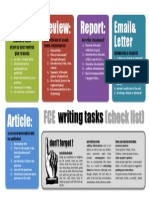 First Writing Tasks Tips