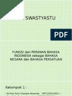 Bahasa Indonesia Sebagai Bahasa Negara Dan Bahasa Persatuan