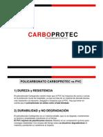 Policarbonato vs PVC