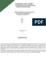 Metodologia Da Lingua Portuguesa Pptx