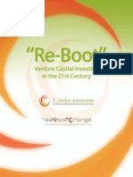 Re-Boot – Venture Capital Investing for the 21st Century