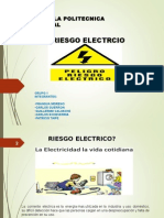 RIESGOS ELECTRICOS Presentacion Del Grupo