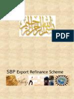 SBP Export Refinance Scheme