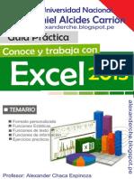 Libro Excel - UNDAC