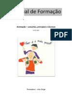 Manual de Formação Animação Conceitos e Técnicas