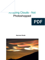Amazing Clouds - Not Photos Hopped