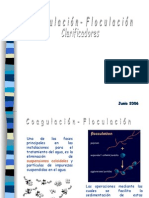 Teoría de Coagulacion-Floculación