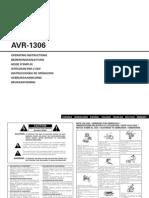Manual Denon 1306