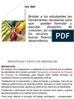 Planificación de Proyecto de Inversion
