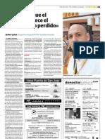 Entrevista a Javier Leiva en el Diario Vasco sobre el curso de gestor y mediador de la información