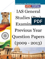 Download UPSC IAS Pre LAST 5 Year Papers General Studies