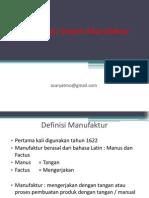 Materi PTI - Klasifikasi Sistem Manufaktur