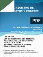 El Registro de Mandatos y Poderes