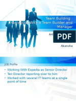 Team Bulding PPT