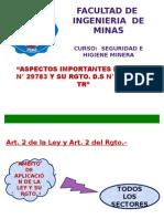 Seguridad e Hiene Minera.-módulo II.-base Legal