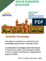 Ethics in Publication Khaliq Agronomy UAF