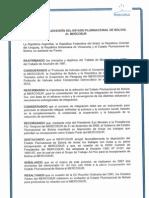 Protocolo Adhesion Bolivia Al Mercosur
