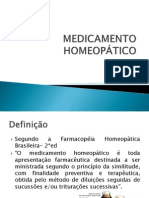 Medicamento Homeopático
